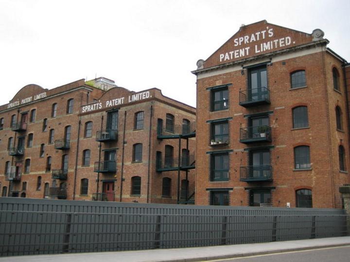 james spratt factory london