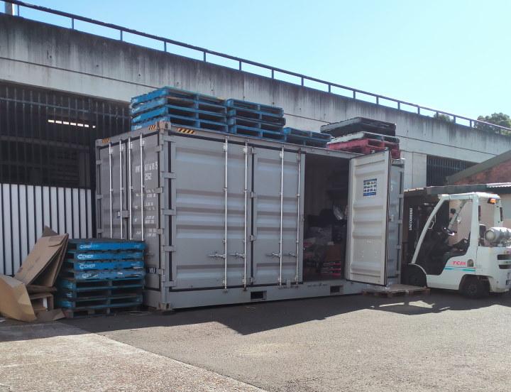 pellet storage